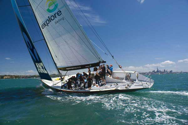America's Cup Sail and Match Race Auckland Sailing Tour | Explore NZ