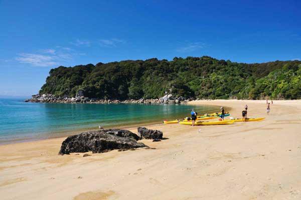 Wilsons Abel Tasman National Park Sea Kayaking |  Multiday Guided Trips