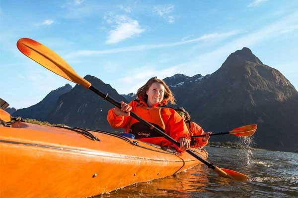 Go Orange Milford Sound Kayaking