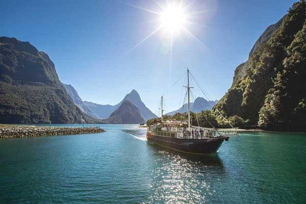 Real Journeys Milford Mariner Overnight Cruises