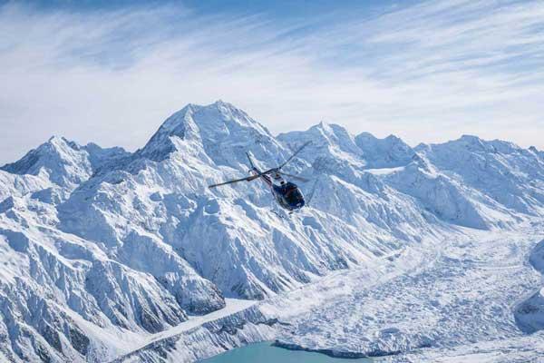 Heliworks Aoraki Mt Cook Scenic Flights