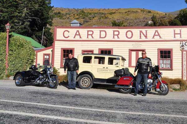 Harley Davidson New Zealand Tours