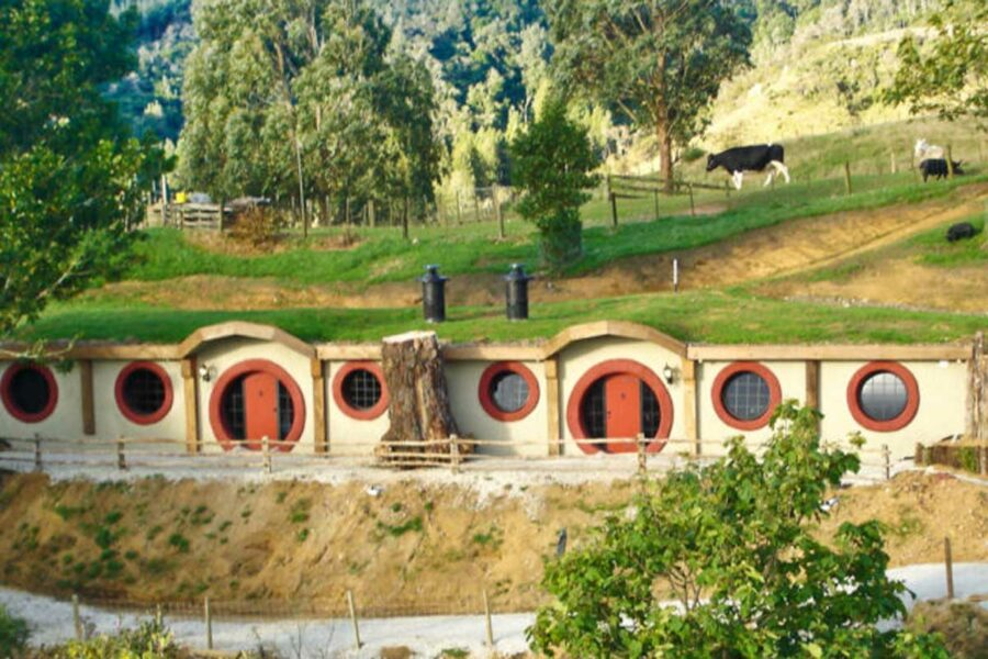 Stay in a Hobbit Hole New Zealand